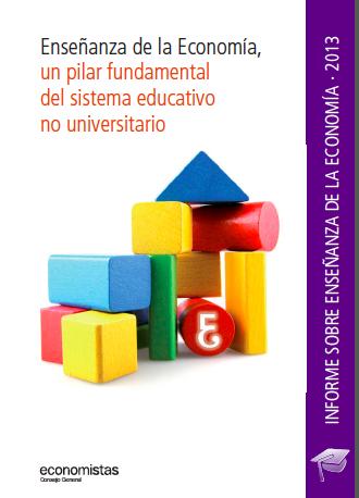 informe enseñanza economia 2013