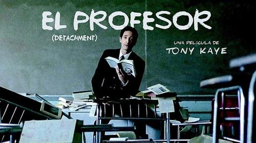 Cartel El profesor