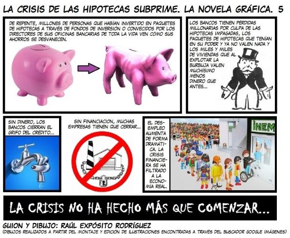 La crisis de las hipotecas subprime V - Raúl Expósito