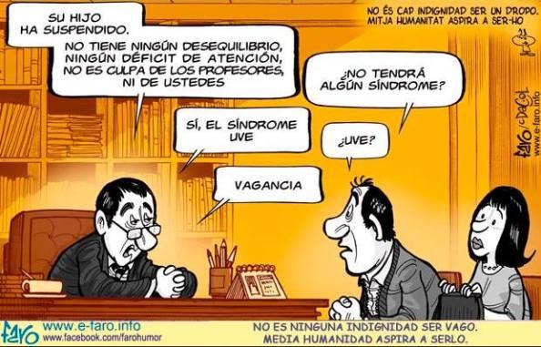 Faro 2013 - Alumnos suspensos