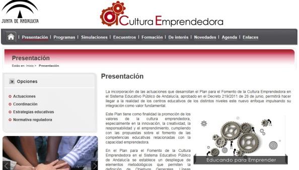 cultura emprendedora andalucía