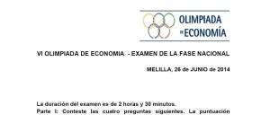 olimpiada nacional 2014